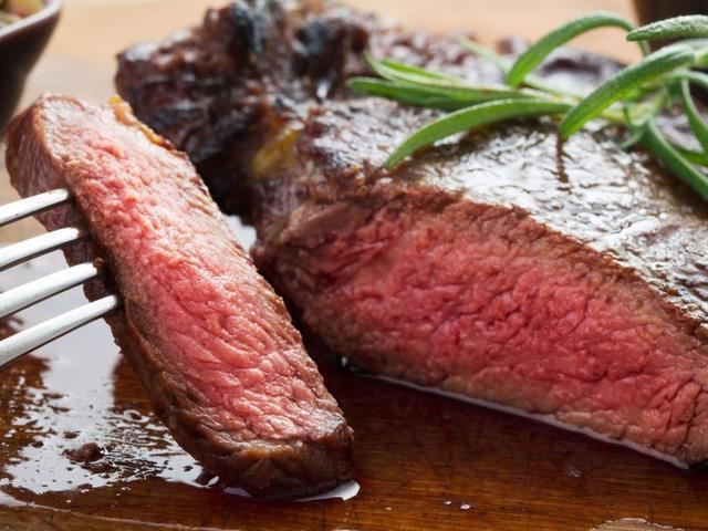 Tingkat kematangan daging Medium Rare