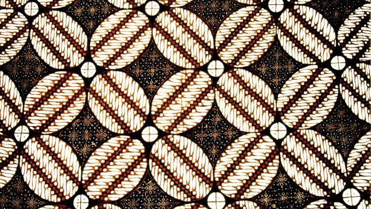 Batik corak ceplok berasal dari Jogja