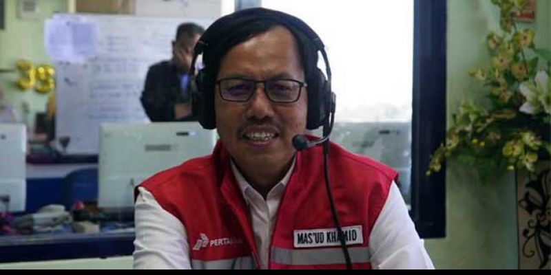 CEO Subholding Commercial and Trading Pertamina Mas'ud Khamid