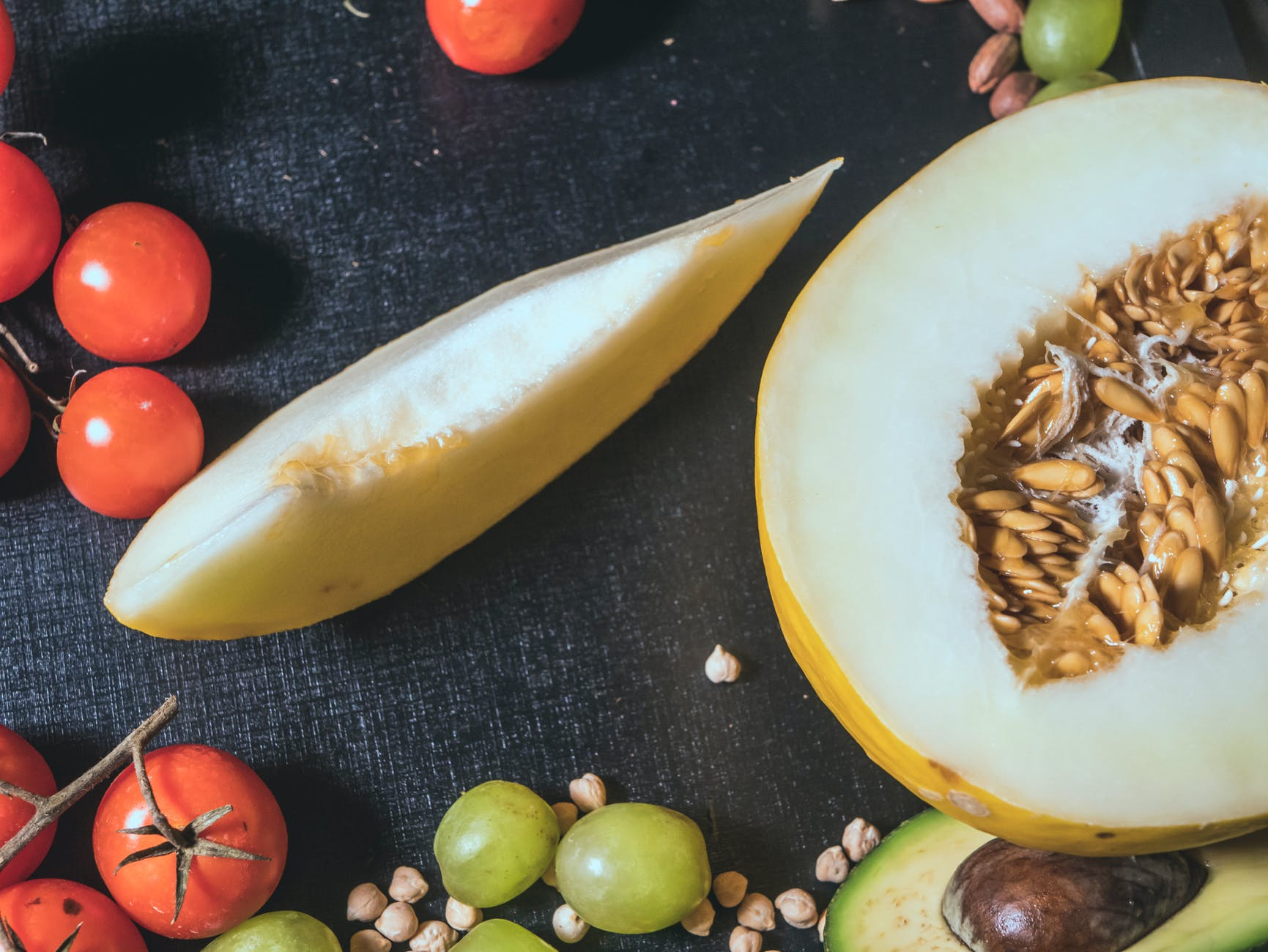Melon utuh Jangan Diletakkan di Dalam Kulkas