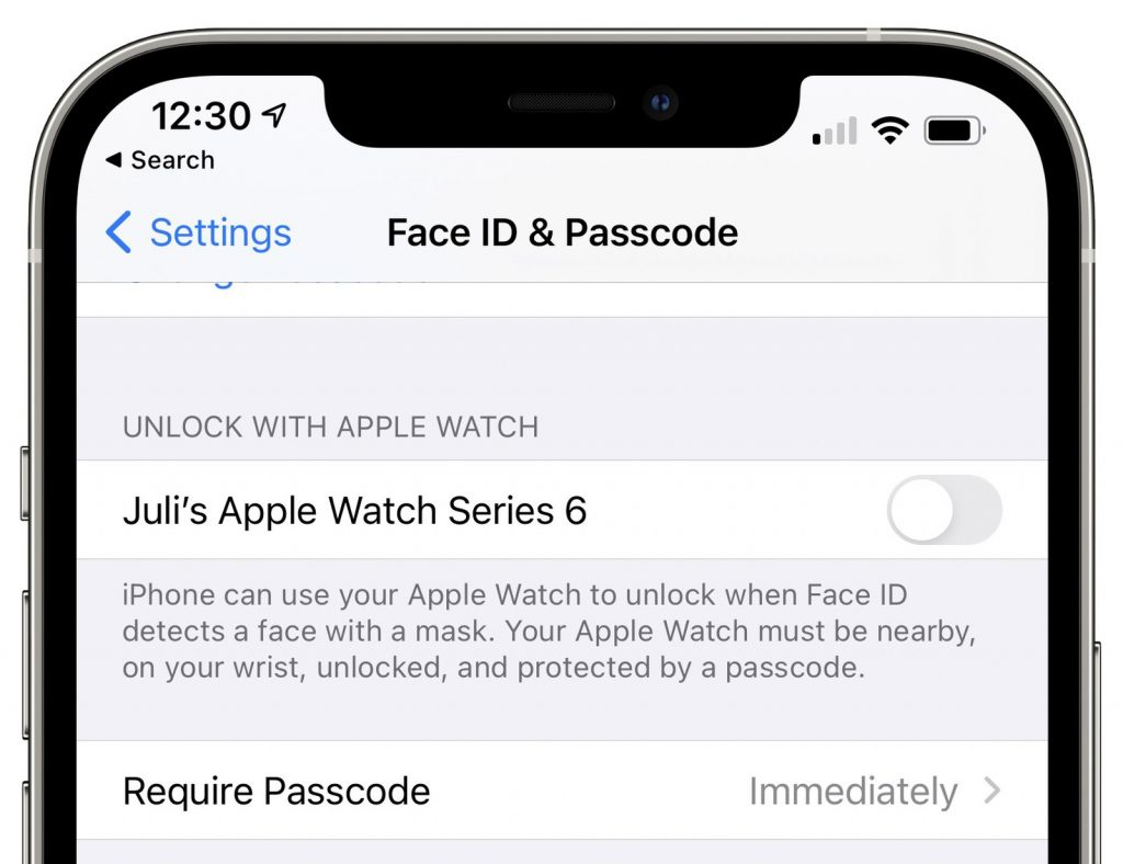 Buka iPhone kini bisa pakai Apple Watch. Foto: MacRumors