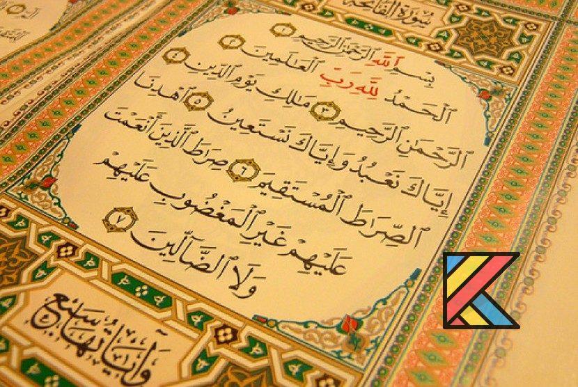 Tafsir Al-Quran Surah Alfatihah Ummul Quran Katalogue