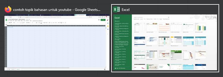 Pindah antara File Excel yang Berbeda - katalogue.id
