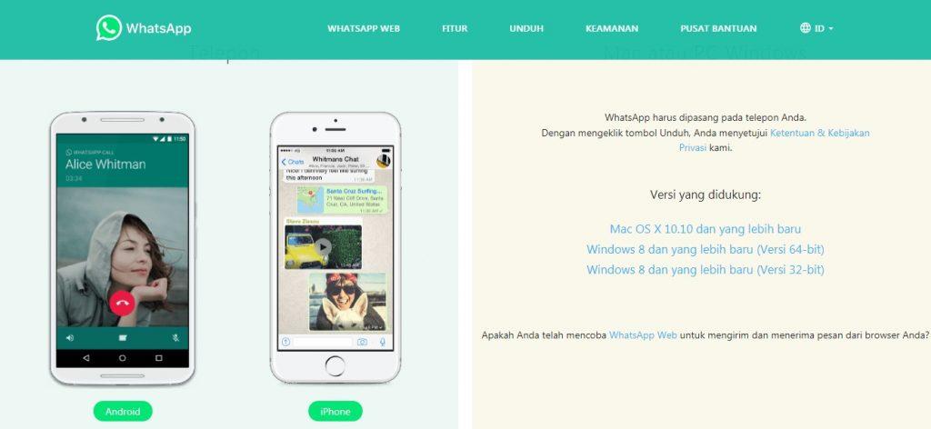 Ketahui cara pakai dan unduh aplikasi WhatsApp di komputer atau laptop.