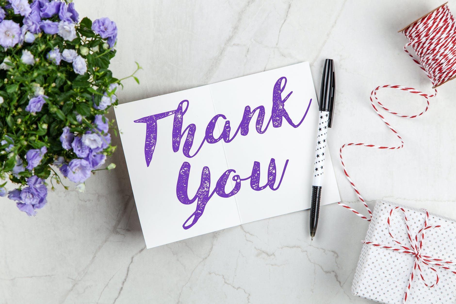 Berbagai ucapan terima kasih yang bermakna dan berkesan.