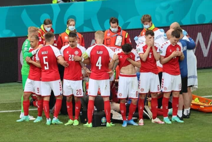 Christian Eriksen kolaps di Tengah Pertandingan EURO 2020