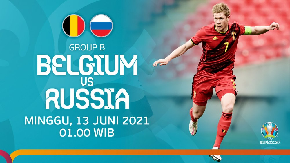 Jadwal Lengkap EURO 2020 Grup B