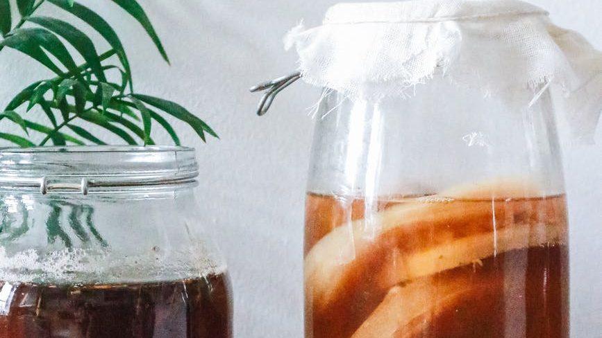 Mengenal teh kombucha, manfaat dan efek sampingnya.