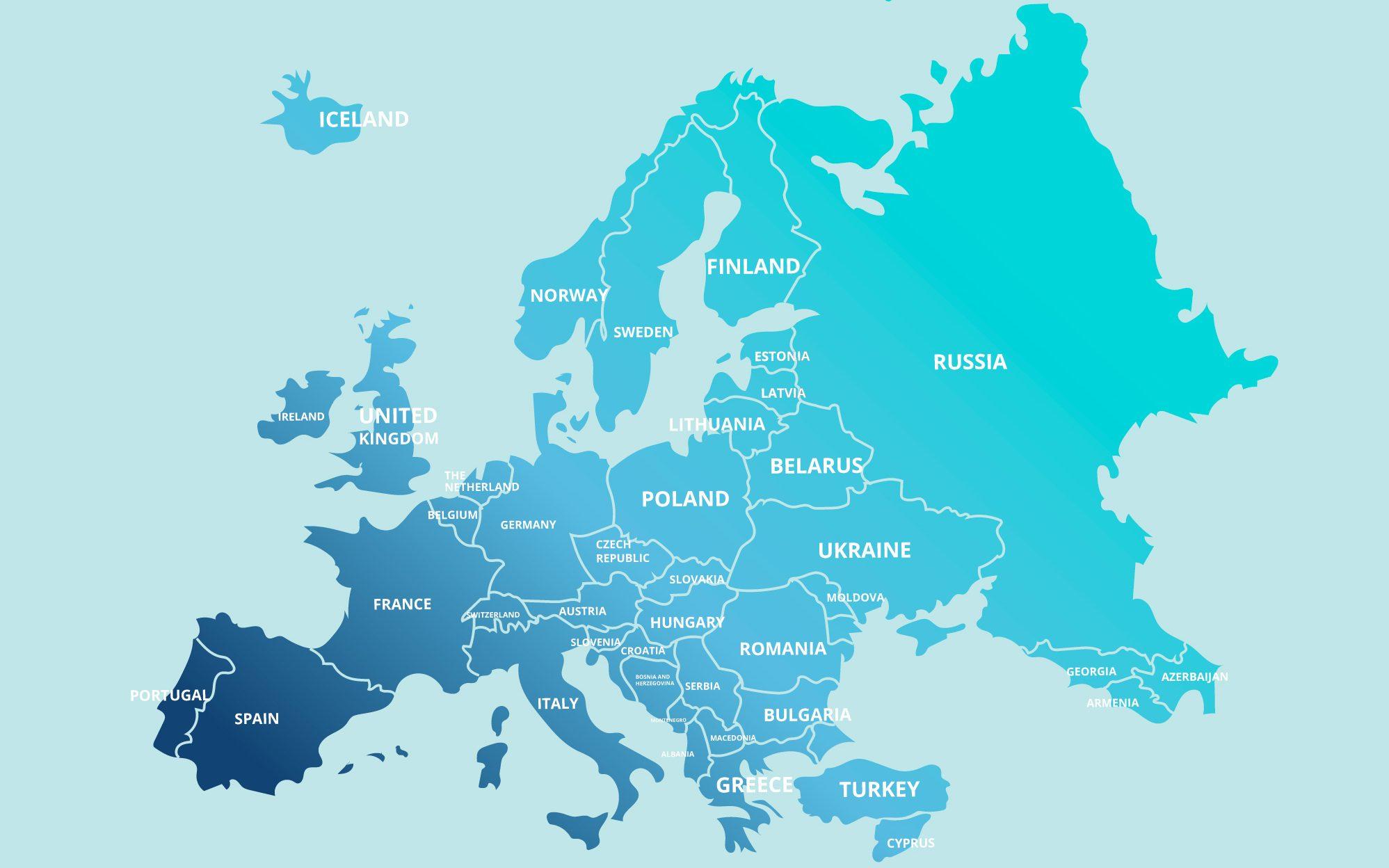 Inilah negara-negara benua Eropa, iklim, dan letak astronomis.